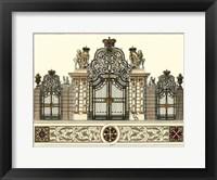 Framed Grand Garden Gate I