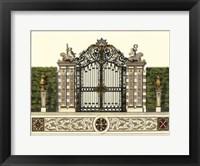 Framed Grand Garden Gate II