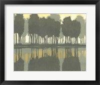 Framed Lake at Dawn I