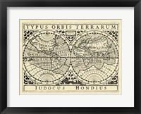Framed Vintage Maps I