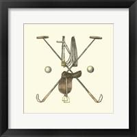 Framed Polo Saddle