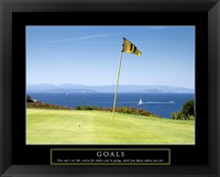 Framed Goals-Golf