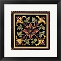 Framed Decorative Tile Design I