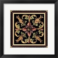 Framed Decorative Tile Design II