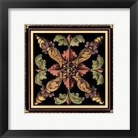 Framed Decorative Tile Design V