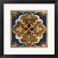 Framed Vintage Woodblock III