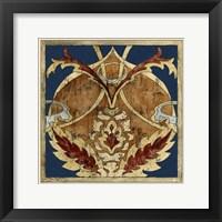 Framed Vintage Woodblock V