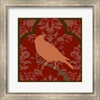 Framed Moroccan Songbird II