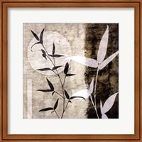 Framed Bamboo Moon II