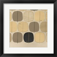 Framed Woodland Motif III
