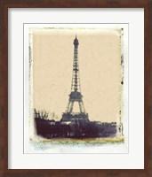 Framed Eiffel View I