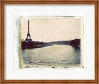 Framed Eiffel View II