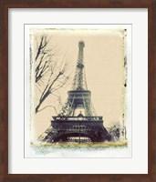 Framed Eiffel View III