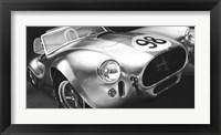 Framed Vintage Racing I