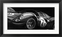 Framed Vintage Racing II