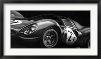Framed Vintage Racing II