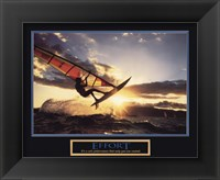 Framed Effort-Sailboard