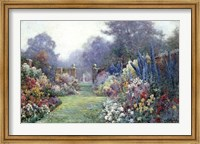 Framed Summer Garden