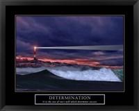 Framed Determination-Lighthouse