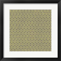 Framed Graphic Pattern I