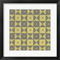 Framed Graphic Pattern III