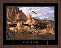 Framed Leadership-Eagle