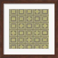 Framed Graphic Pattern VI