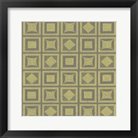Framed Graphic Pattern VI