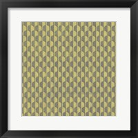 Framed Graphic Pattern VII