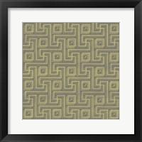 Framed Graphic Pattern VIII