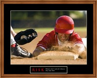 Framed Risk-Baseball