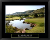 Framed Leadership-Golf