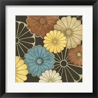 Floral Confetti II Framed Print