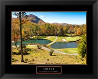 Framed Drive-Golf