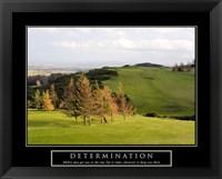 Framed Determination-Golf