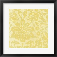 Framed Damask Detail I