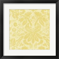 Framed Damask Detail II