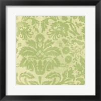 Framed Damask Detail III