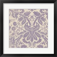 Framed Damask Detail VI