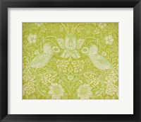 Framed Citrus Chintz I