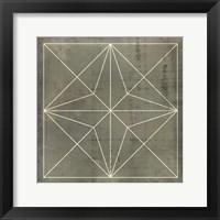 Framed Geometric Blueprint I