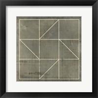 Framed Geometric Blueprint IV
