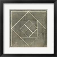 Framed Geometric Blueprint V