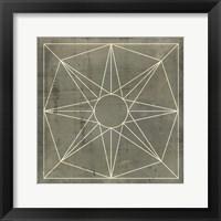 Framed Geometric Blueprint VII