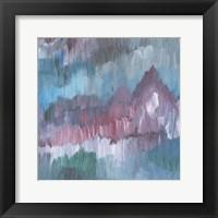 Framed Lapis Impressions IV
