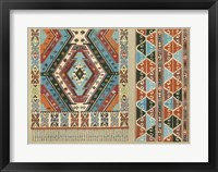 Framed Turkish Carpet Design