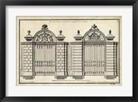 Framed Neufforge Gate I