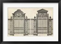 Framed Neufforge Gate II