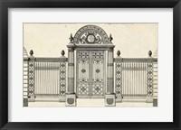 Framed Neufforge Gate IV