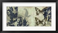 Framed Butterfly Reverie I